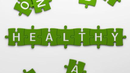 concept healthy