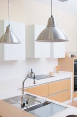 modern kitchen in a modern house