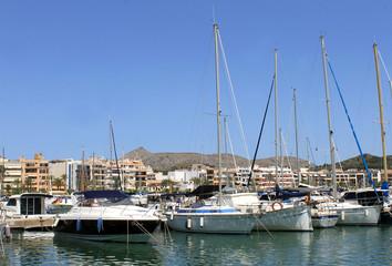 Alcudia harbor and marina