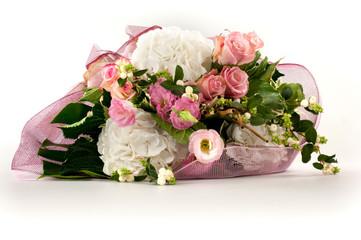 mazzo di fiori romantico