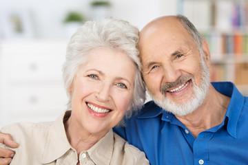 sympathisches älteres paar