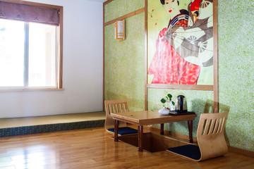 Japanese style room interior