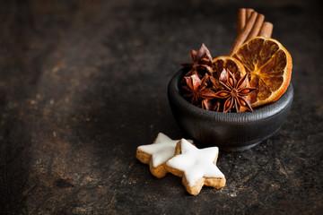 Kekse und Gewürze