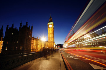 Fotomurales - Big Ben, Palace of Westminster