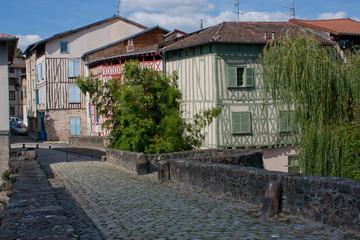 Façades à colombage de Limoges