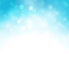 Blue holiday  light background