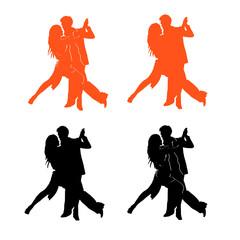Fototapeta tango - taniec obraz