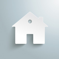 White Paper House Background