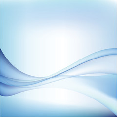 Abstract blue lines template