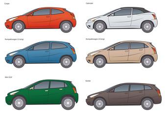 PKW- markenneutrale Modellreihe