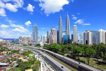 Foto op Canvas Kuala Lumpur Kuala Lumpur skyline