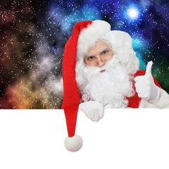 Weihnachtsmann Daumen hoch!