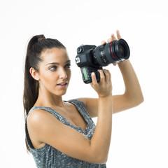 tourist or proffesional gorgeous sexy photographer