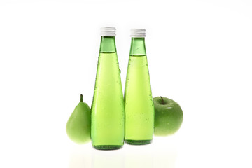 Apple and pear drink ingredients