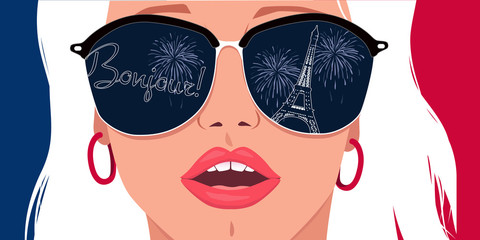 Visit Paris, learn French