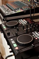 console of DJ