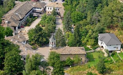 Famous Dryanovo St. archangel Michael monastery in Bulgaria
