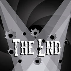 the end label