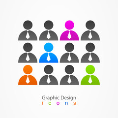 Graphic design internet social network