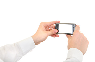 Person Take a Picture with a Cellphone