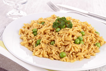 rice and pea