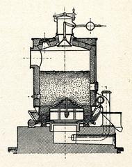 Coal gas generator (ca. 1920)