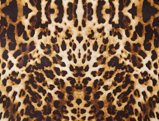 background with leopard texture
