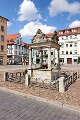 Marktbrunnen Lutherstadt Wittenberg