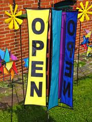 open - geöffnet