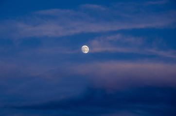 Luna nella foschia