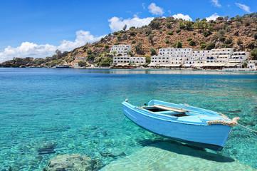 Crete Loutro village
