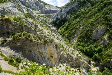 Clue de Taulanne, canyon in France