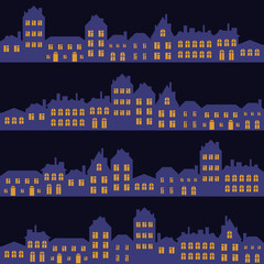 night streets pattern