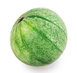 not ripe watermelon