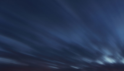 Sky background - long exposure at twiligth with clouds