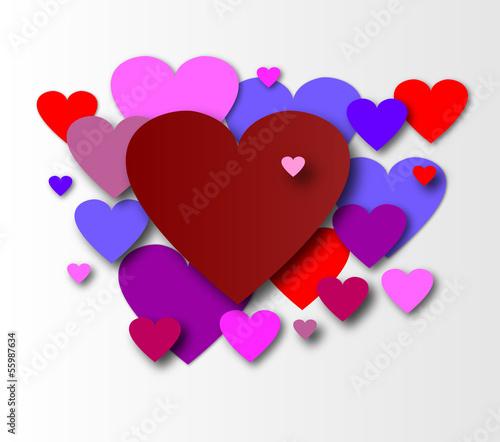 Herz Liebe Love Valentinstag Liben Hochzeit Geburt Geburtstag Stock