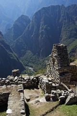Machu Picchu is a pre-Columbian Inca site in Peru