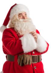 Praying Santa Claus portrait