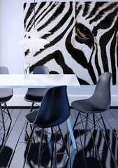 indoor modern decor 3d illustration