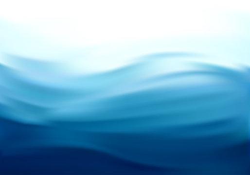 Abstract Vector Texture, Blue Silk
