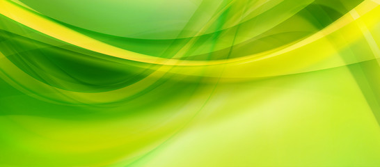 abstract wavy background, banner Wall mural