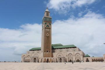 Acrylic Prints Morocco Mesquita Hassan 2