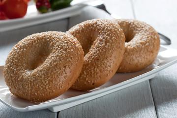 knusprige bagels