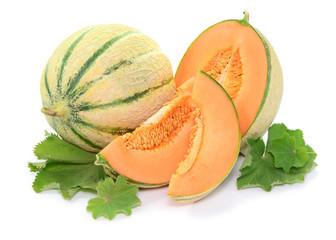 Blätter, Melone