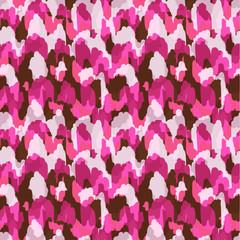 Abstract modern animal seamless fabric pattern