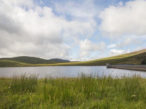 Spelga Dam Reservoir