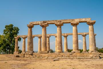 The Temple of Hera at Tavole Palatine