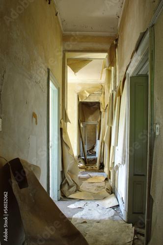 Interno di una casa abbandonata immagini e fotografie for Interno di una casa