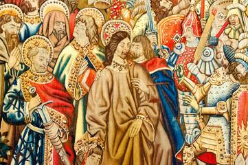 Raphael`s draft tapestry (Cappella Sistina)