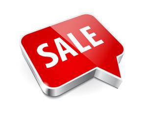 Sale metallic button